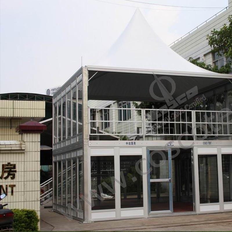 Double Decker Tent Two Story Structure Tent