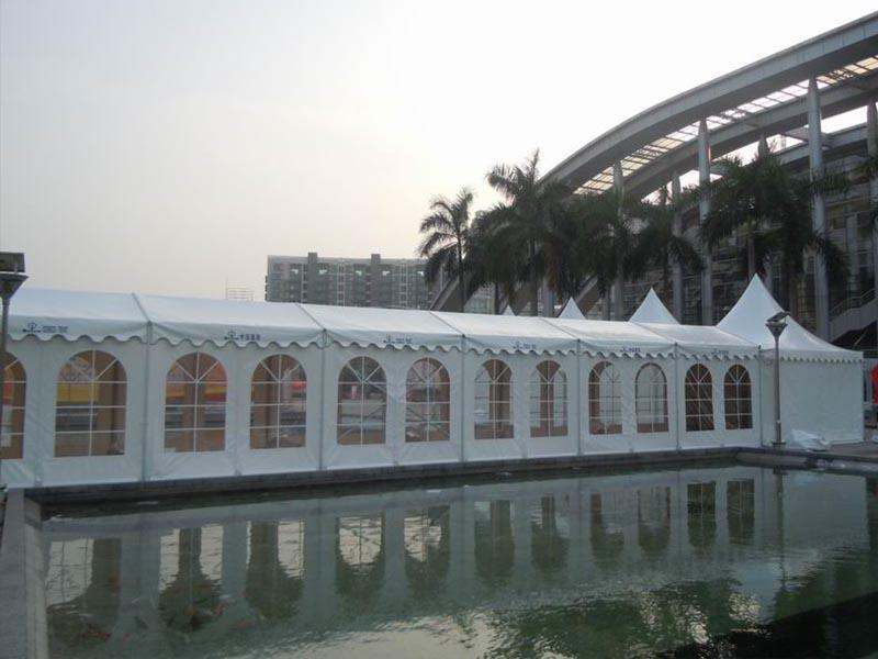 COSCO Brand small commercial big tent aluminium structure for sale