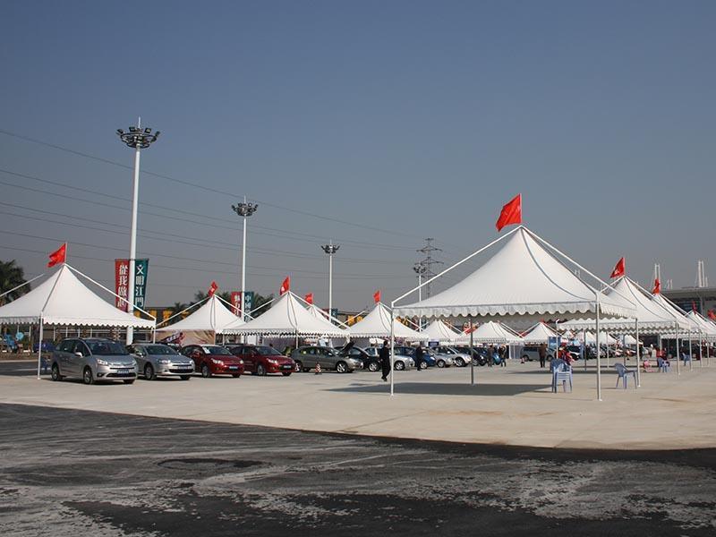 Hot aluminium gazebo tent pole COSCO Brand