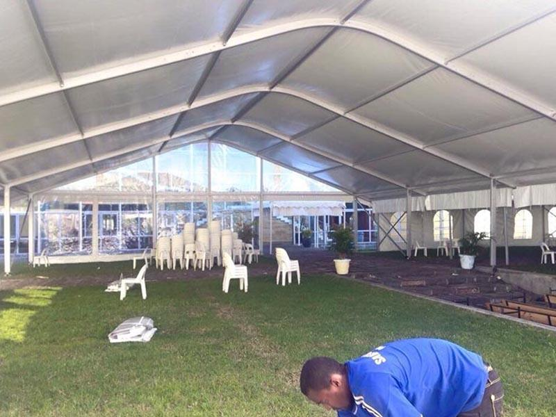 COSCO style arcum tent factory dustproof