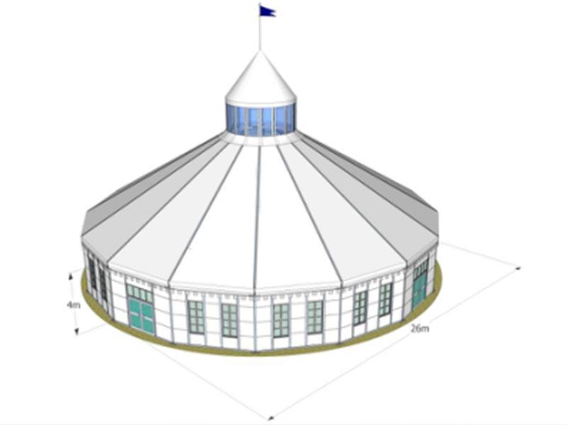 16 side event tent