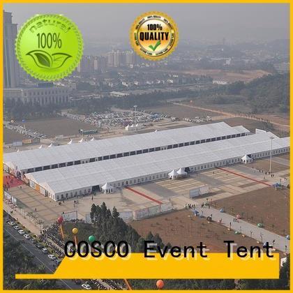 exhibition aluminium commercial big tent outdoor COSCO Brand