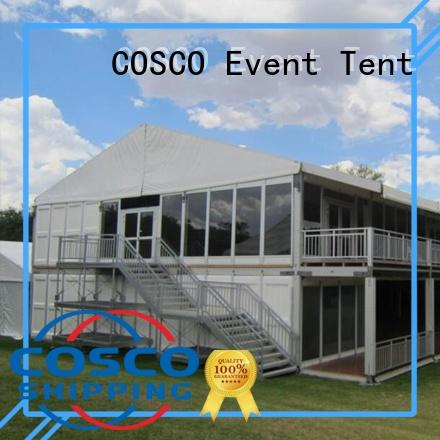 descker sizes two marquees COSCO Brand big top marquees supplier