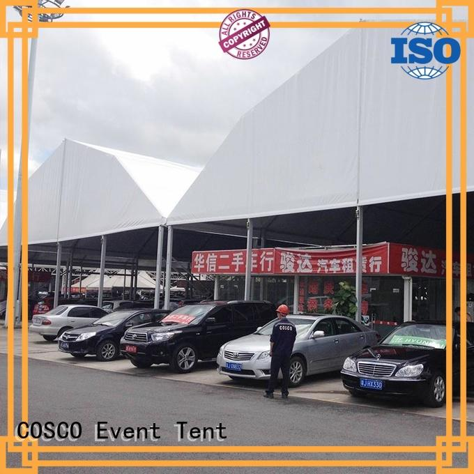 structure polygonal marquee tent glass for wedding COSCO