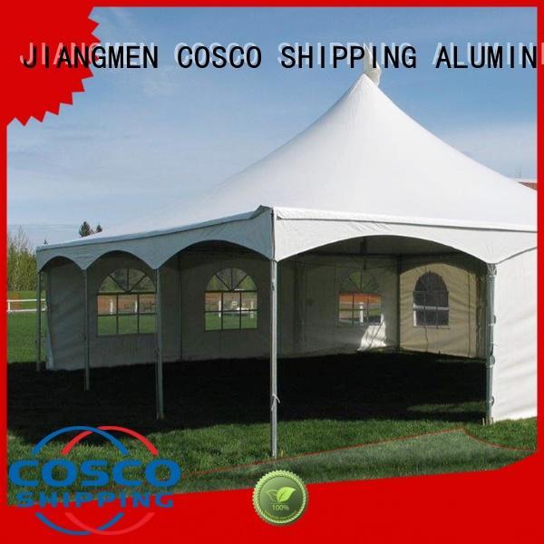 peak pvc party tent outdoor for wedding COSCO