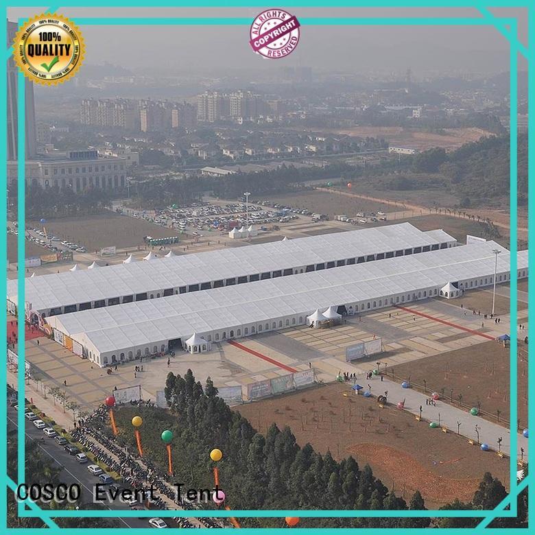 exhibition structure tent aluminium for disaster Relief COSCO