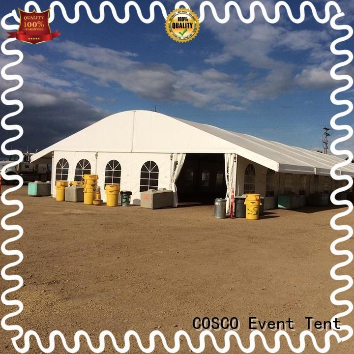 transparent arcum tents marketing pest control COSCO