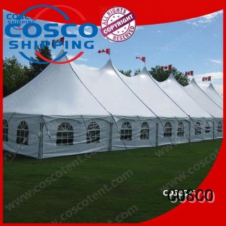 COSCO newly tent event certifications grassland