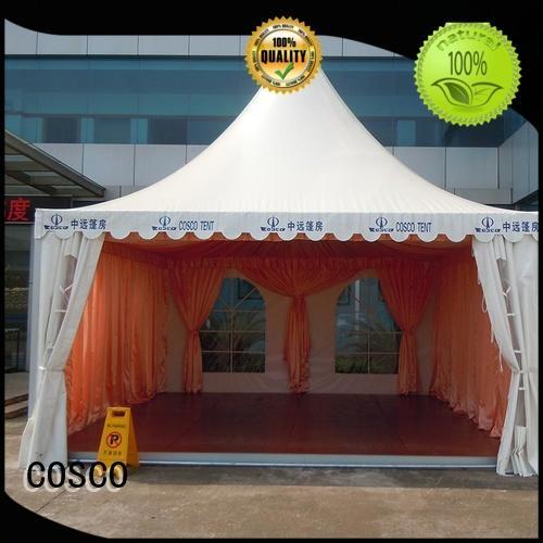COSCO high-quality aluminium event tent supplier grassland