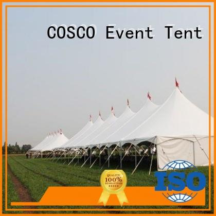 peg and pole marquee tent outdoor tent COSCO Brand pole tents for sale