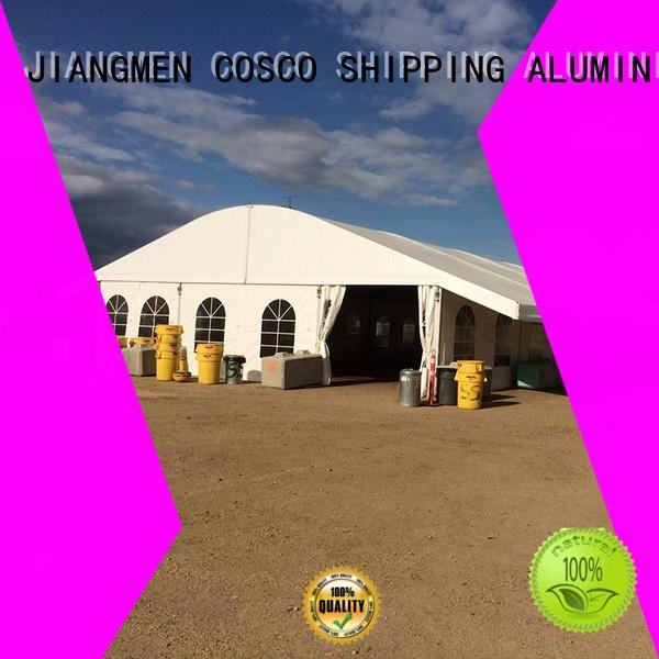 COSCO Brand arcum wedding marquee sizes manufacture