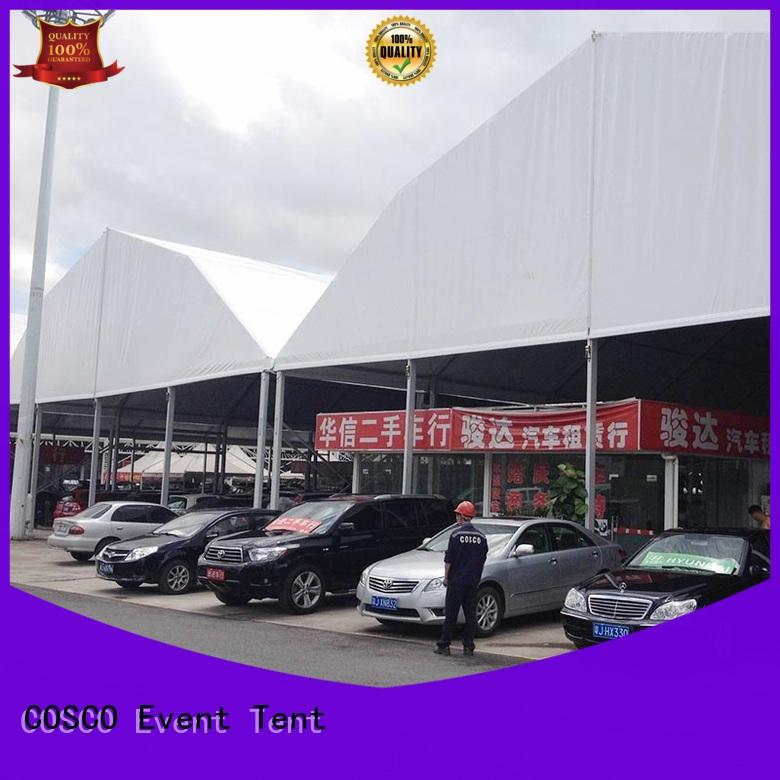 COSCO hot-sale marquee tent wedding manufacturer cold-proof