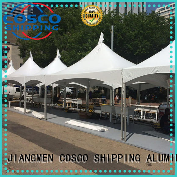 COSCO tent frame marquee China snow-prevention