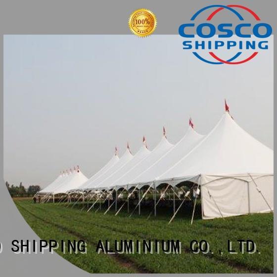 custom event tesnt peg for holiday COSCO
