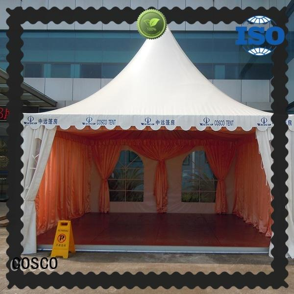 COSCO high-quality pagoda marquee scientificly for disaster Relief