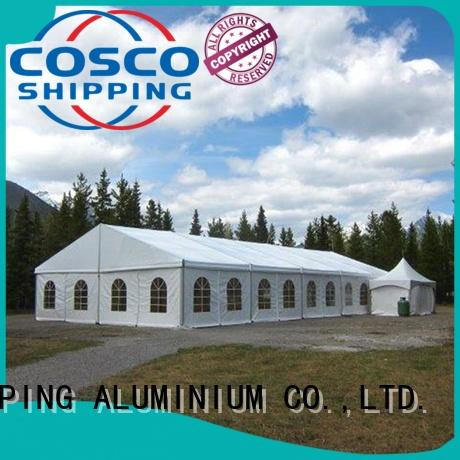 COSCO modular party tent marketing for camping