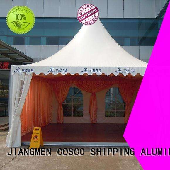 COSCO pagoda pagoda tent improvement Sandy land