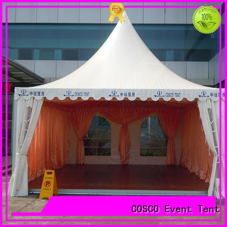 COSCO available pagoda tents for sale research grassland