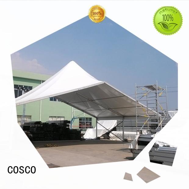 COSCO splendid high peak tent wholesale cold-proof