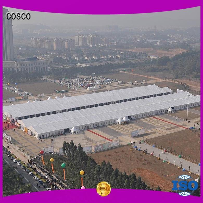 supplier canopy big tent aluminium structure for sale COSCO manufacture