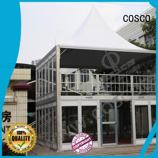 large marquees COSCO Brand clear party tent