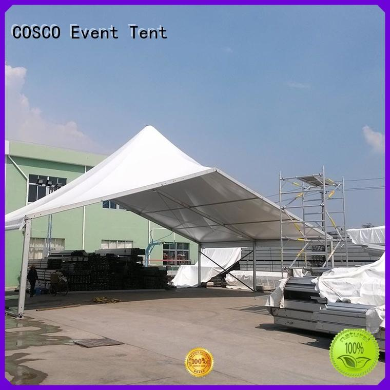 COSCO excellent high peak tent marketing for engineering