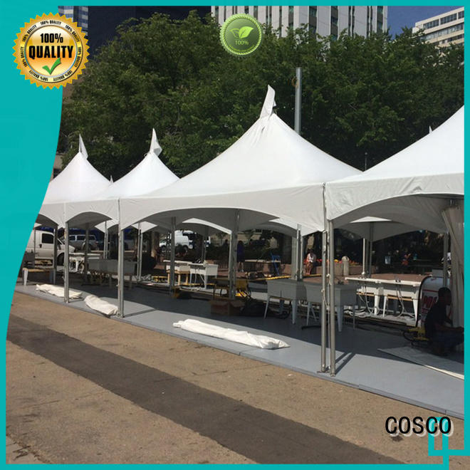 COSCO distinguished party tent owner