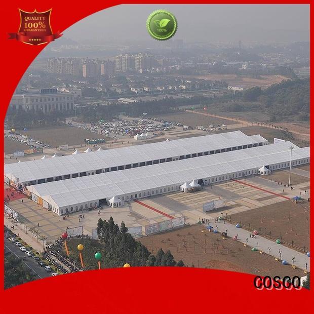 Aluminium Structure Big Outdoor Exhibition Tent for sale