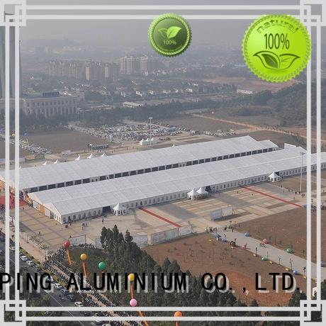 COSCO polygon structure tents type rain-proof