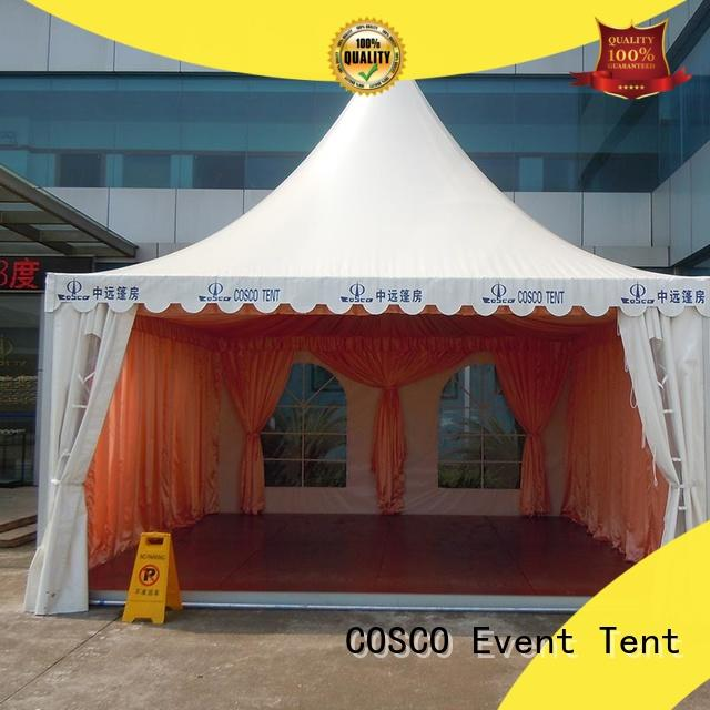 COSCO pagoda pagoda tent management for engineering