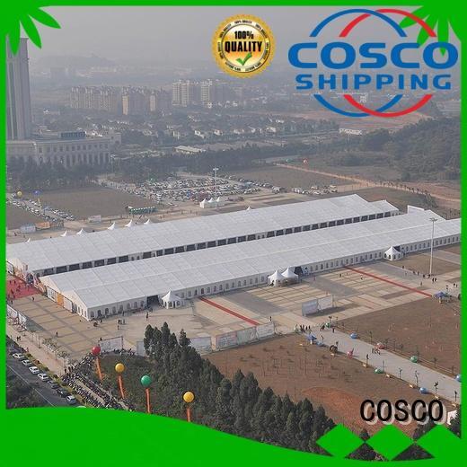 COSCO outdoor party tent cost rain-proof