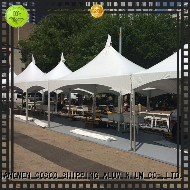 COSCO frame tent wedding ft