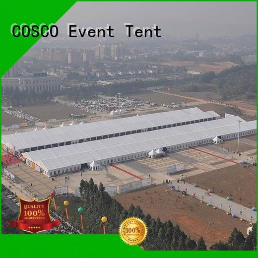 COSCO high peak structure tent experts for engineering