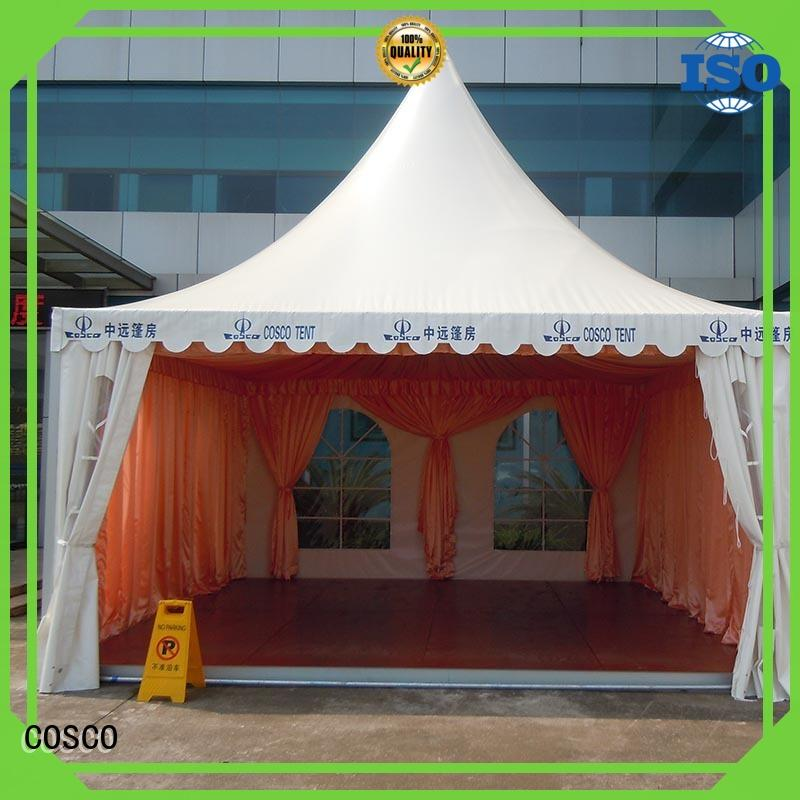 COSCO Brand marquee event pagoda canopy events