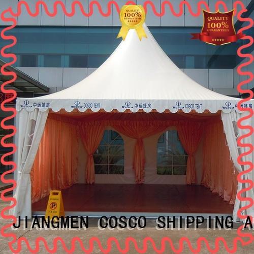 COSCO event pagoda tent price supplier dustproof