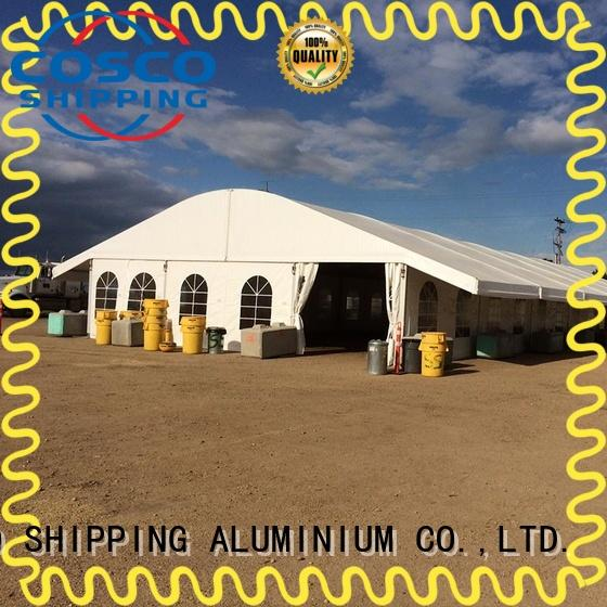 modular curved transparent COSCO Brand exhibition canopy tent factory