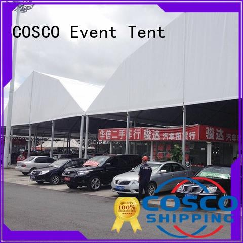 Quality COSCO Brand moudular tents and events