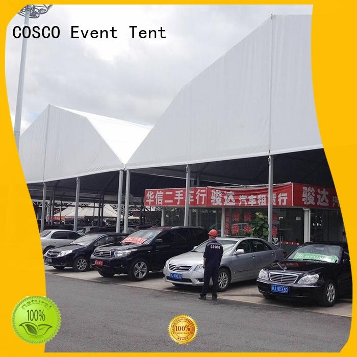 COSCO structure polygon tent  manufacturer for wedding