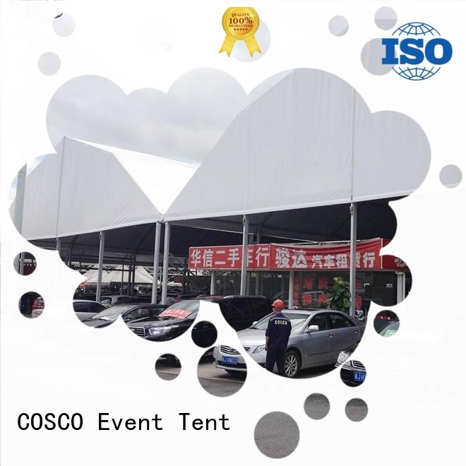 COSCO new-arrival polygon tent supply pest control