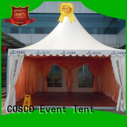 COSCO geodesic pagoda canopy available rain-proof