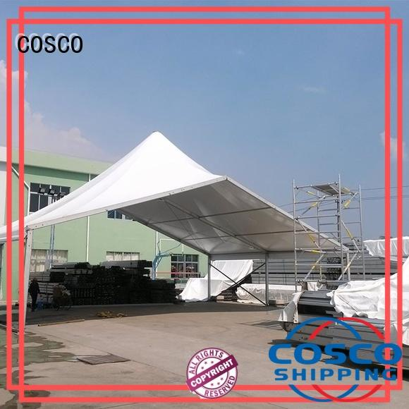 COSCO outstanding high peak frame tent aluminium dustproof