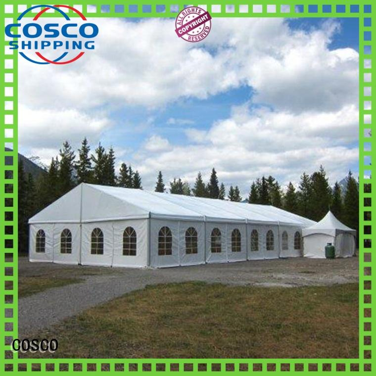 COSCO high peak party tent type for engineering