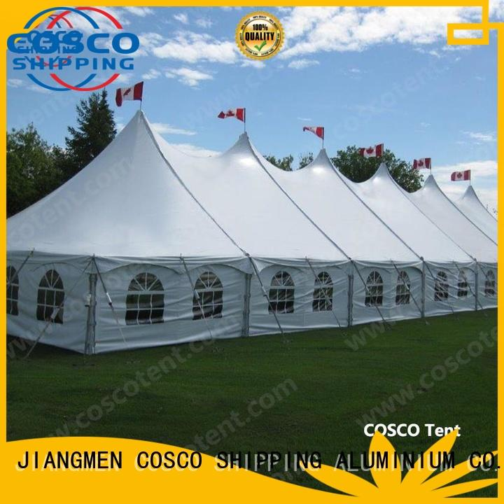 40x60ft sale marquee COSCO Brand peg and pole marquee tent factory