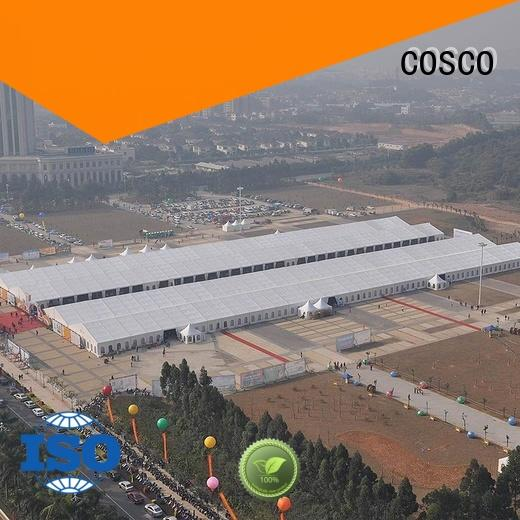 COSCO pagoda party tents for sale 40x60m rain-proof