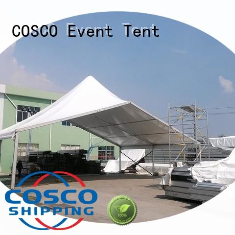 COSCO nice high peak frame tent mixed for engineering