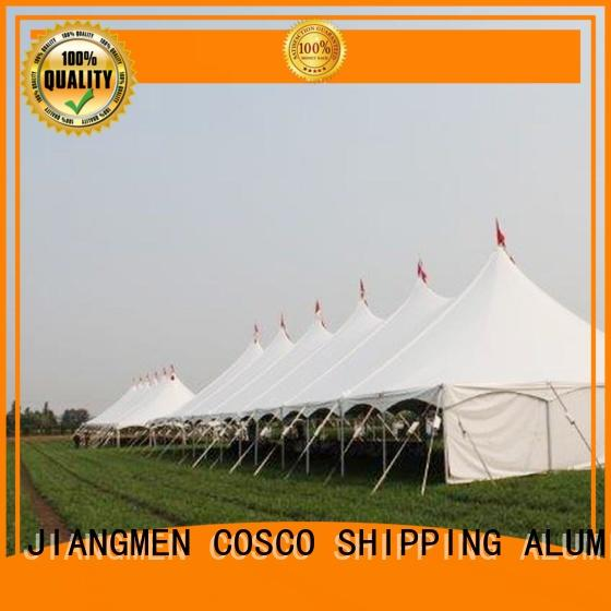 COSCO first-rate peg and pole tents for sale supplier rain-proof