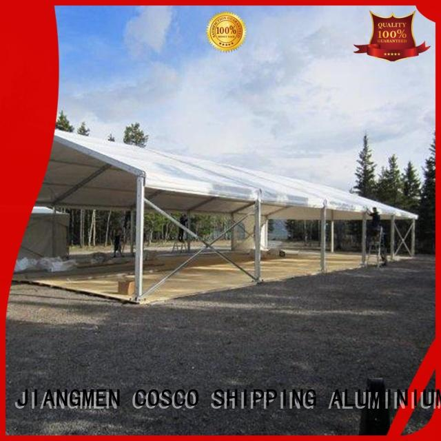 aluminum structure tent marketing foradvertising COSCO