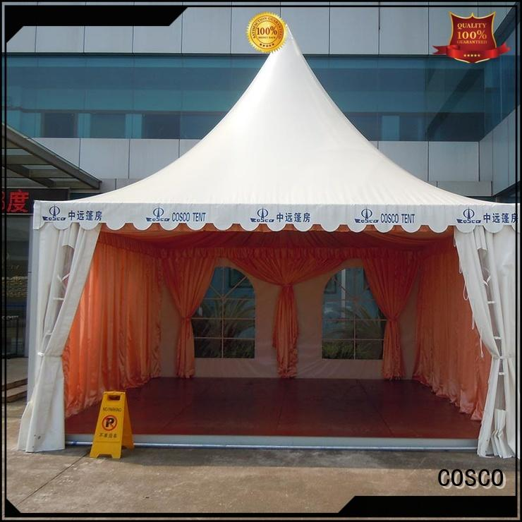 COSCO marquee event marquees scientificly for disaster Relief