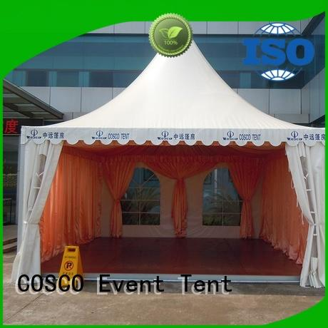 COSCO high peak pagoda tent management anti-mosquito