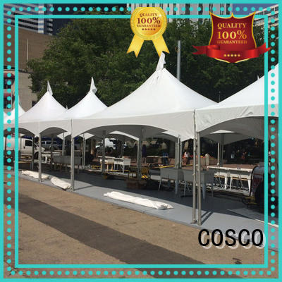 COSCO peak party tent supplier for wedding